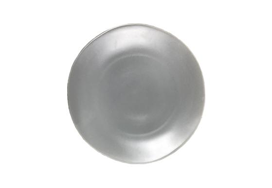 Salad Plate - Stoneware Light Grey Plate