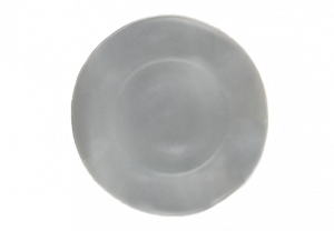 Dinner Plate - Stoneware Light Grey