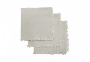 Linen Frayed Edge Napkin