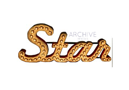 Marquee 'Star' Sign