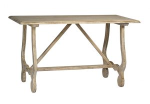 Sadie Table- White Washed Wood