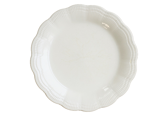 Dinner Plate - Ivory China Plate