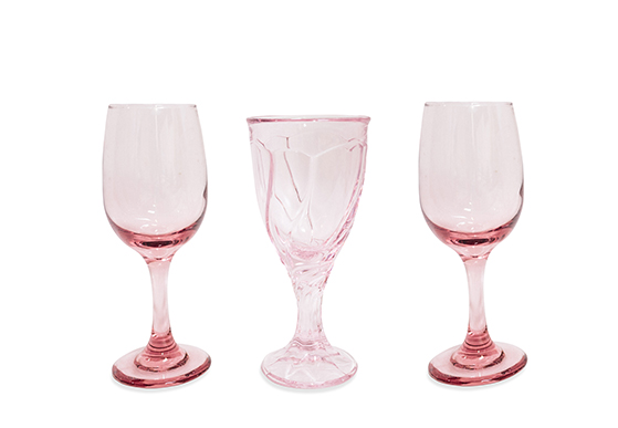 Light Amethyst Goblets