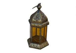 Gold Antique Moroccan Lantern