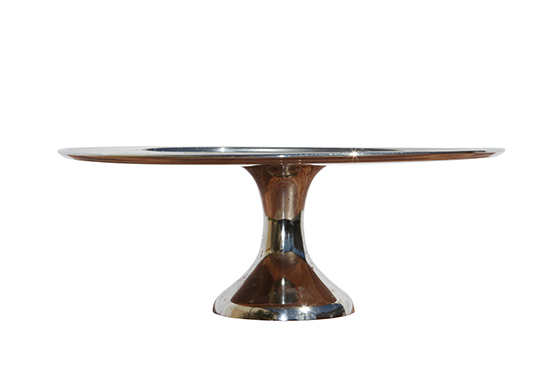 Cake Stands - Silver