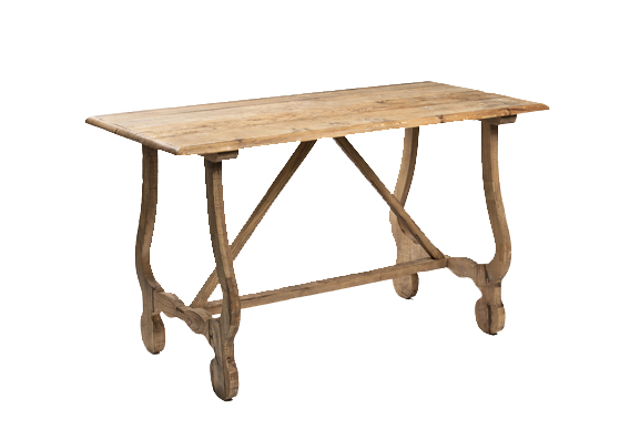 Sadie Table- Natural Wood - Mexico