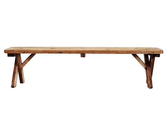 Farm Benches - Natural Wood