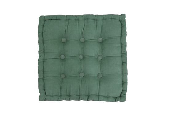 Louie Floor Cushion – Olive