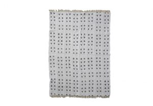 Mud Cloth Throw Rug