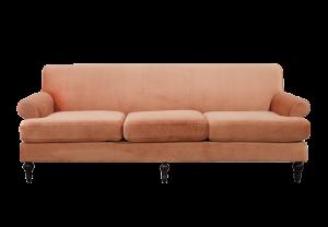 Ginger Sofa - Coral