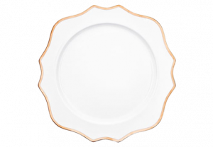 Dinner Plate - Adriana Gold