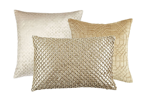 Gold Pillow Collection