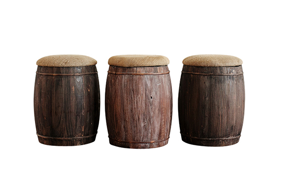 Sawyer Barrel Stool