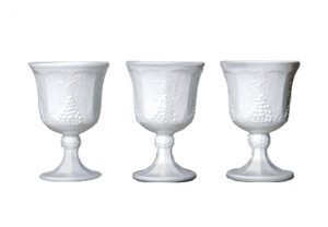 Milk Glass Drinkware